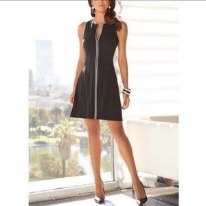 Boston Proper full front zip dress size 2